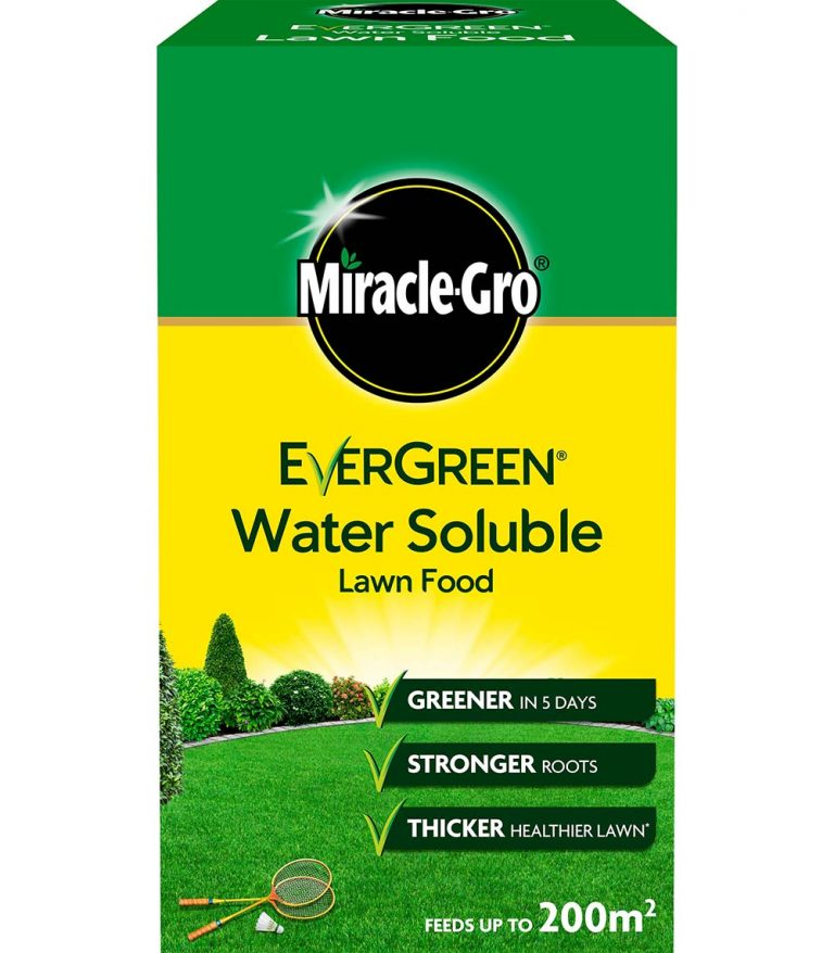 MIRACLE-GRO SOLUBLE LAWN FOOD 1KG - Stratford Garden Centre